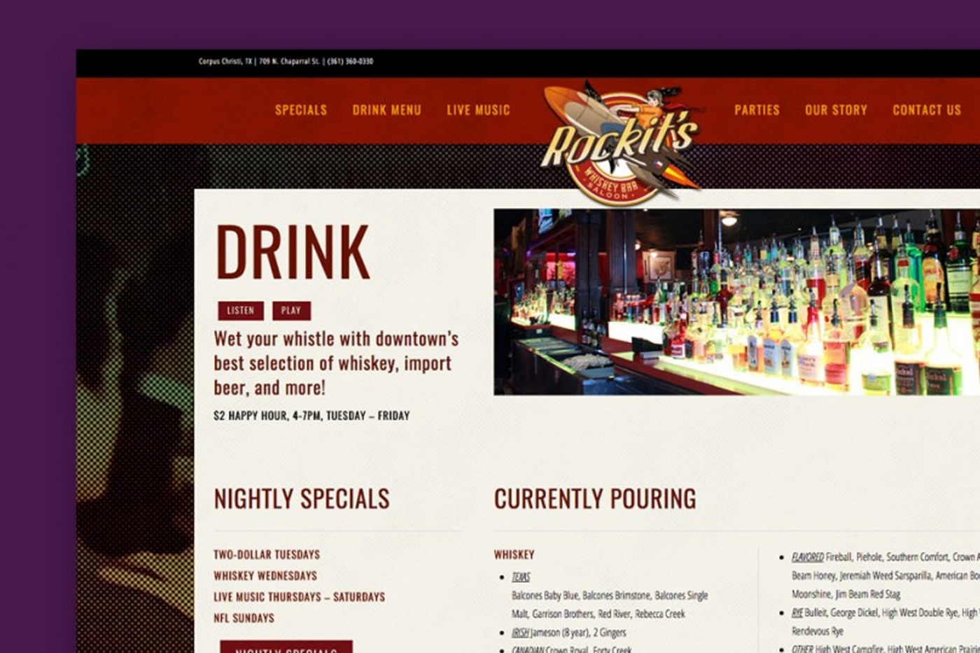 Rockit's Whiskey Bar & Saloon